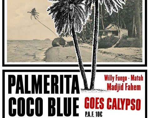 Christine Riou, le café des voyageurs et Palmerita coco blue