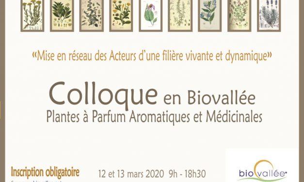Colloque PPAM en Biovallée