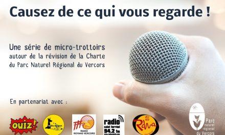 Au Rythme du Parc : Révision de la Charte, micro-trottoir à Châtillon-en-Diois