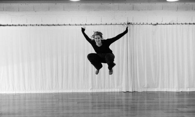 Jessica Calzolari, professeure de danse contemporaine
