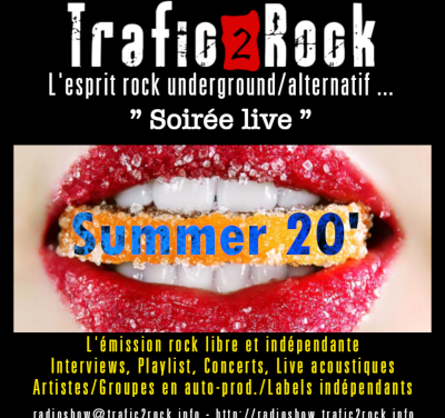Trafic 2 Rock «Soirée Live» Summer 20 #5