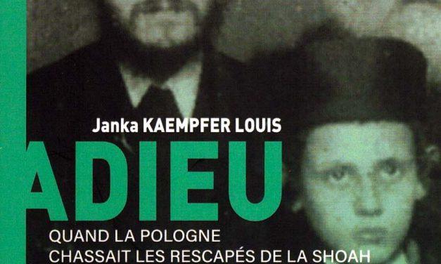 Adieu Varsovie de Janka Kaempfer