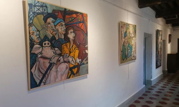 Cynthia Pedrosa expose à l'Ancien-Monastère de Ste-Croix