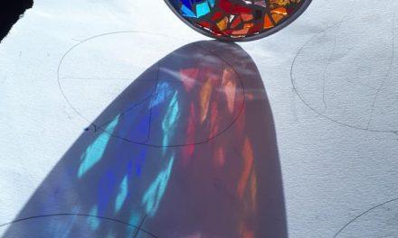 Stage de mosaïque de verre