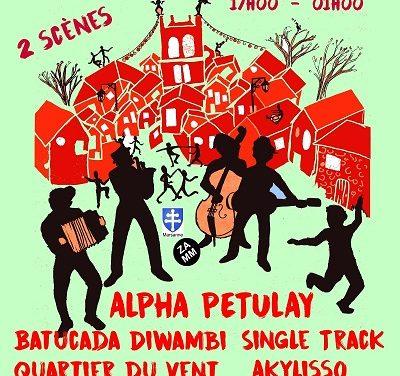 Alpha Petulay à Marsanne le 23 juin !