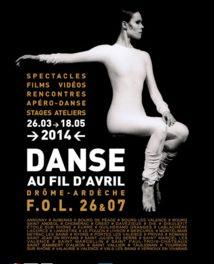 La prog du TDD : Danse Au Fil d'Avril et Théâtre en Mai !!