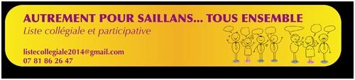 Municipales 2014, liste «Autrement Pour Saillans… Tous Ensemble»